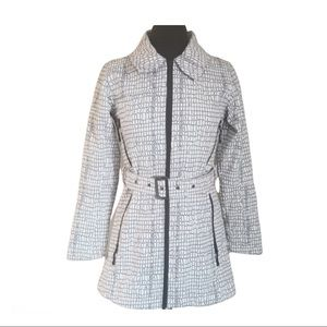 Misty Mountain Women's Belted Fall Trenchcoat sz S